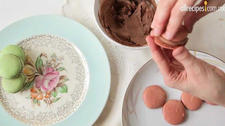 Macarrones dulces franceses