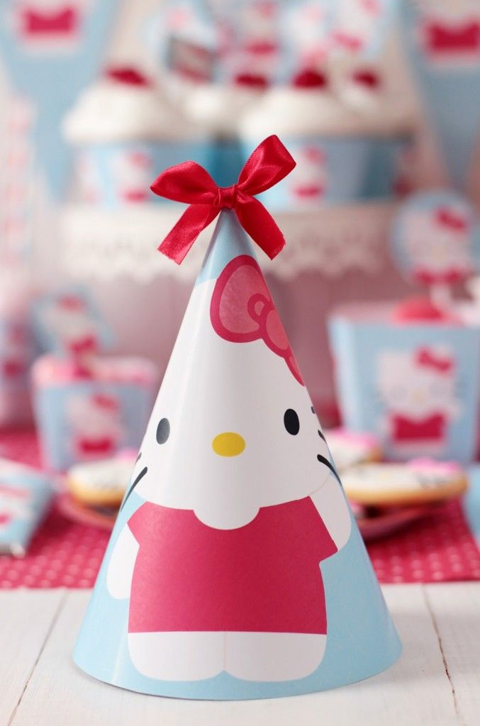 Hello Kitty Party + Free Hello Kitty Party Printables | Party Ideas By Seshalyn