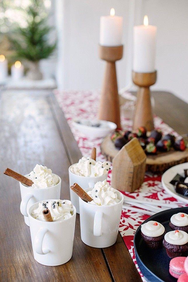28 Scandinavian Holiday Decor Ideas That Are Totally Häftigt via Brit + Co.