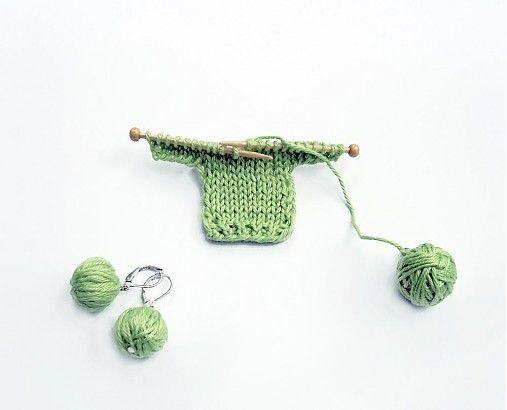BioHandmade / Brošňa Milujem pletenie