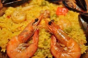 Paella si doi shrimpi aratosi nas in nas
