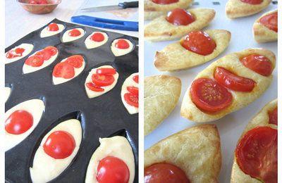 Les petits bateaux à la tomate