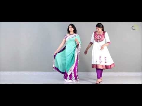 How to Drape a Lehenga Saree :)
