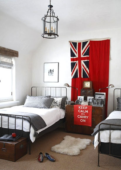 16 best images about union jack rocks interiors on for Union jack bedroom ideas
