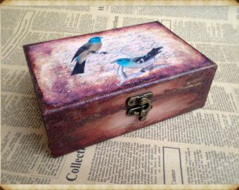 Artículos similares a Wooden jewelry drawer, Cottage Chic drawer, shabby chic drawer, home decoration, handmade drawer, artificially aged, handcrafted, retro en Etsy
