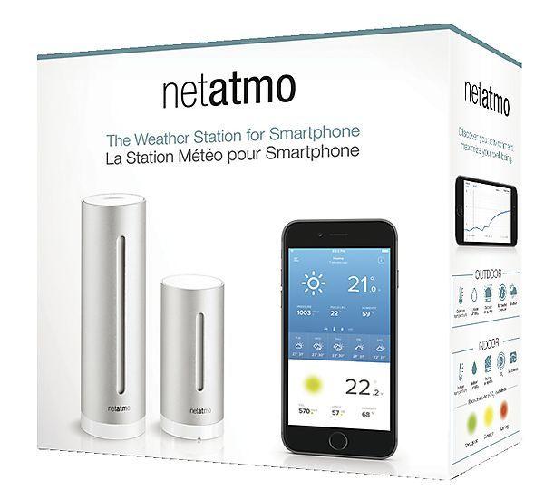 Netatmo værstasjon for smarttelefon