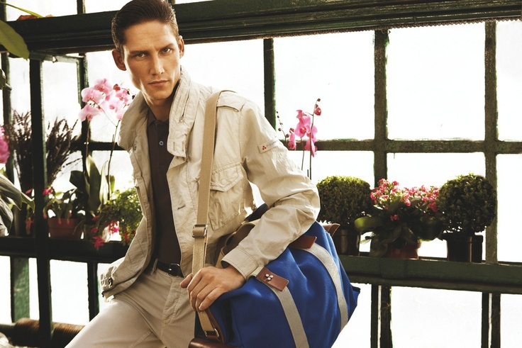 Photographer Alvaro Beamud Cortes captures spring's relaxed elegance in the season's new advertising campaign featuring model Roch Barbot.