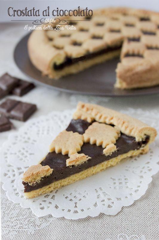 Crostata al cioccolato | I Pasticci della Zia Tata