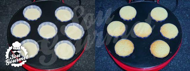 Cupcakes na Máquina de Cupcake / Cupcake Maker | Sou Gourmet