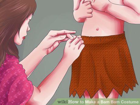Image titled Make a Bam Bam Costume Step 10                              …