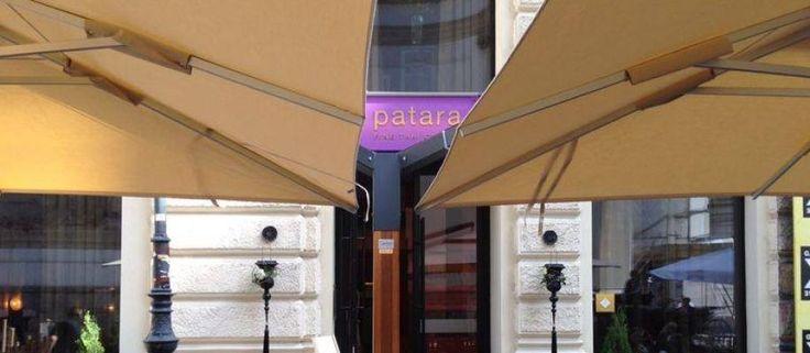Gastronomie Sonnenschirm 400 x 800 cm @Patara Wien