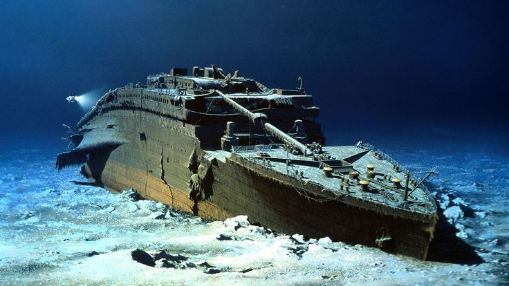 The company that has exclusive rights to salvage the Titanic is planning a possible expedition to the world's most famous shipwreck in 2010. Description from hhz-history.blogspot.com. I searched for this on bing.com/images