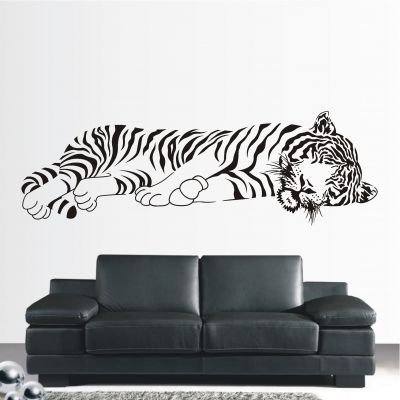 deko-shop-24.de-Wandtattoo-Tiger liegend XXL