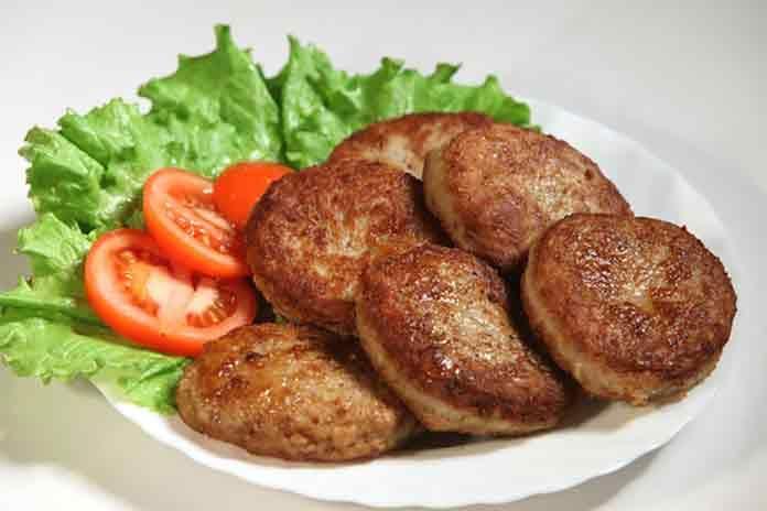 Котлеты из свинины и говядины | Готовим рецепты