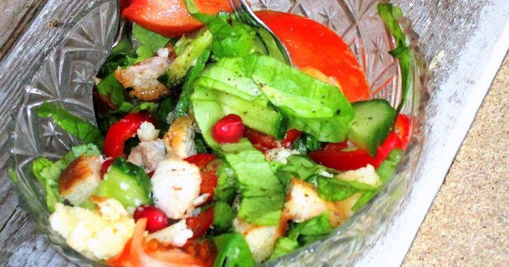 salata diesel, cu rodie