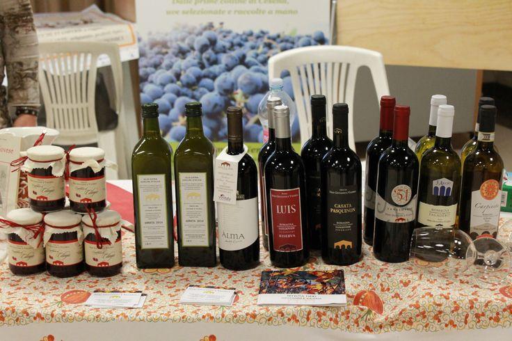 Esposizione #vini azienda Tenuta Neri, coltivatori di #canapa alimentare- Antica Fiera della Canapa #Gambettola 22 Novembre 2014