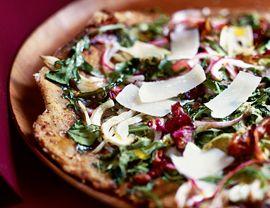 Grilled Salad Pizza | Vegetarian Times