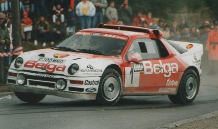 Marc Duez Ford RS 200