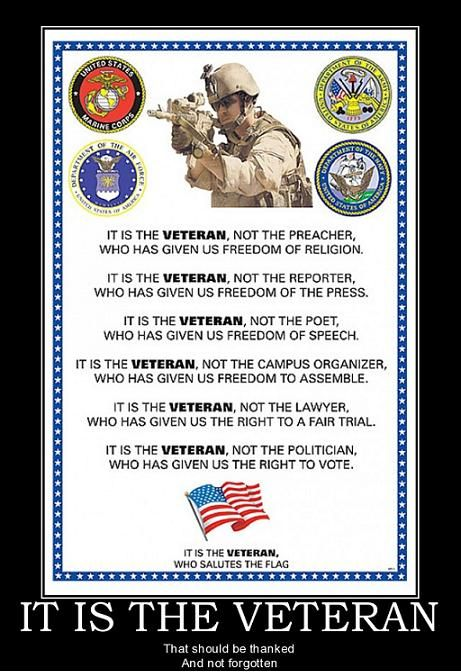 Veteran+Blank-Check+Quote | That is Honor, and there are way too many people in this country who ...