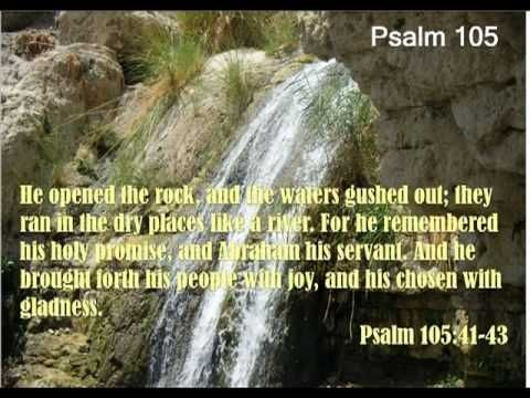 Psalm 105 (with text - press on more info.)