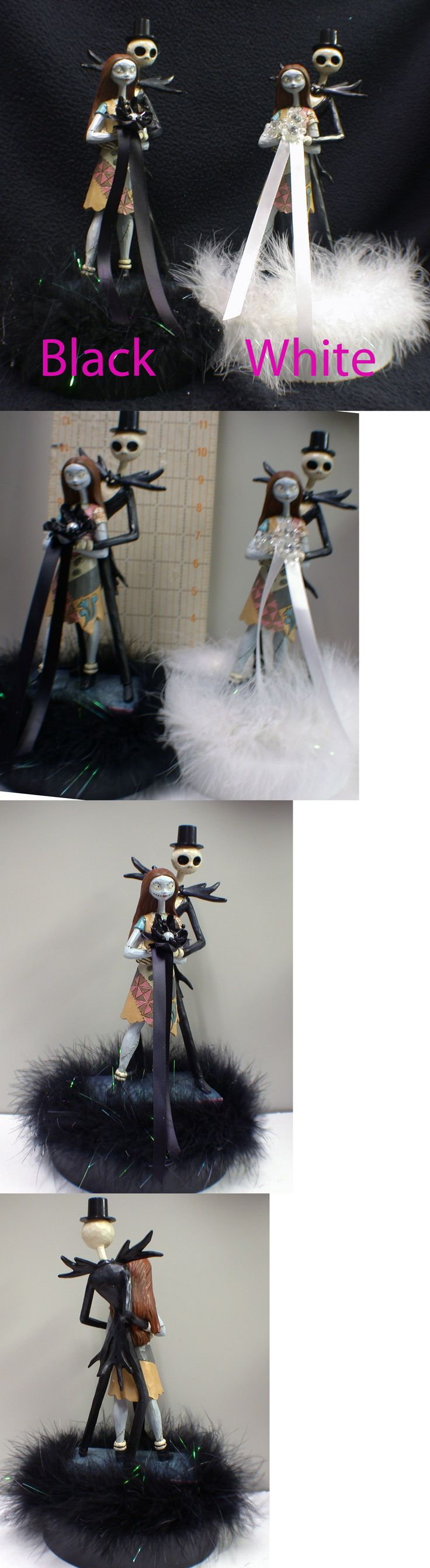 Wedding Cakes Toppers: Nightmare Before Christmas Wedding Cake Topper Groom Top Centerepiece Halloween -> BUY IT NOW ONLY: $92 on eBay!
