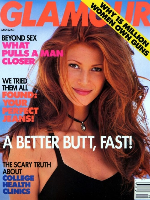 Angie Everhart  Glamour