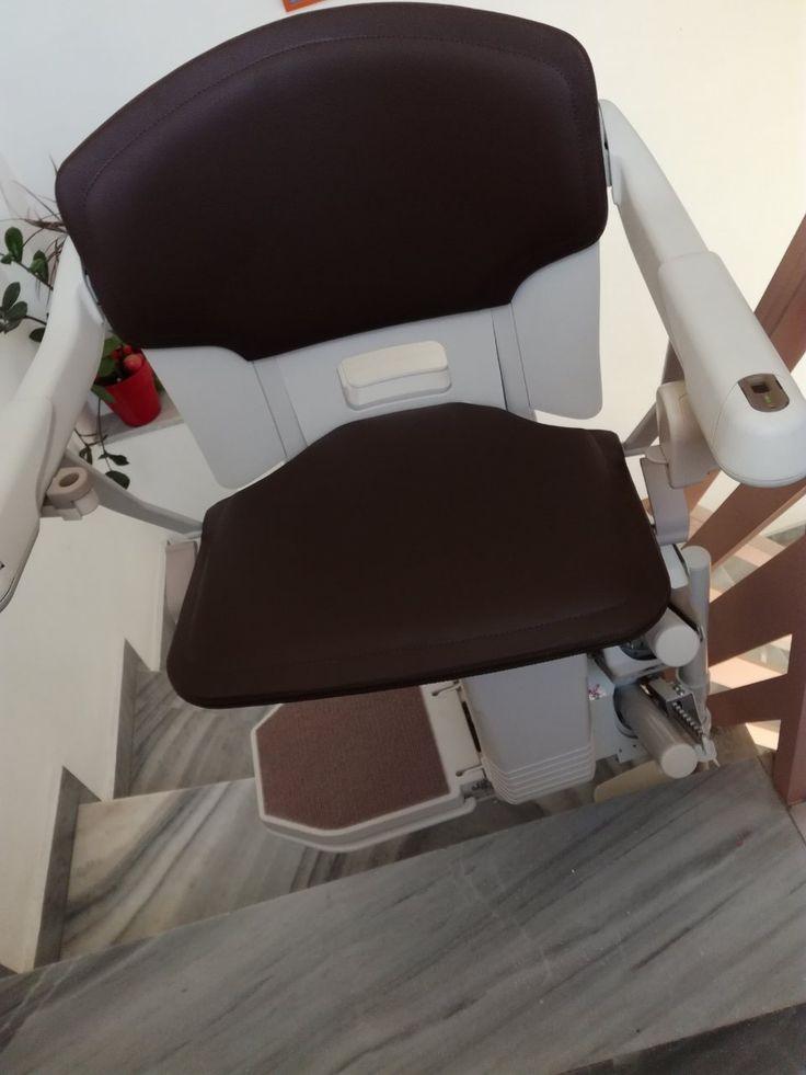 Στην ΑΓΙΑ ΠΑΡΑΣΚΕΥΗ μία ακόμη τοποθέτηση Solus!  Ένας ακόμη ανελκυστήρας σκάλας Solus 260 τοποθετήθηκε από τη Draculis στην Αγία Παρασκευή. Κατάλληλος για περιστροφικές σκάλες, διαθέτει εργονομικό σχεδιασμό και μοναδικό design.