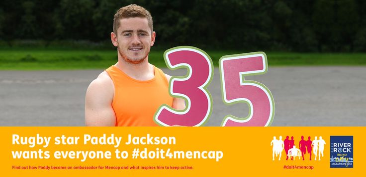 Paddy Jackson - Do it for Mencap