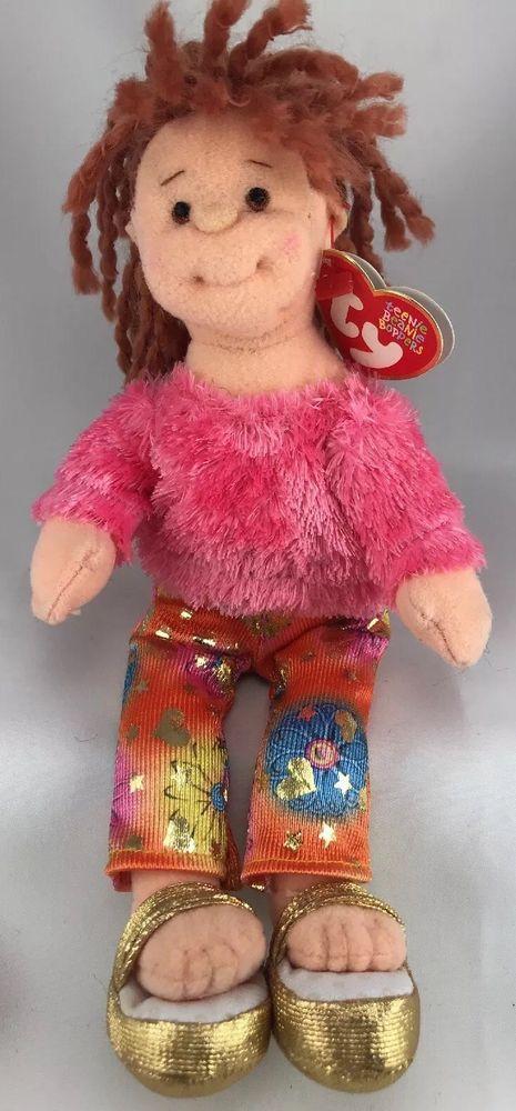 5dfb780c030 Teenie Beanie Boppers Snazzy Sabrina Hippie Yoga TY 8