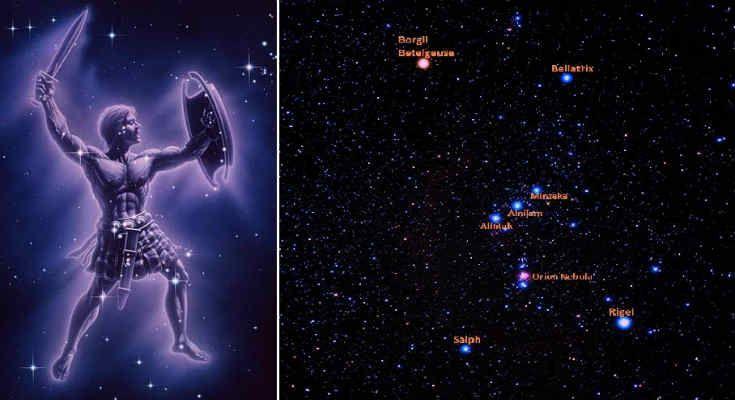Αρχαίοι Εξωγήινοι: Ο μυστηριώδης αστερισμός του Ωρίωνα [Βίντεο]