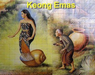 Dongeng Anak Nusantara - Keong Emas