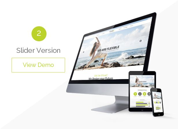 Site Templates - WaveX - One Page Parallax | ThemeForest