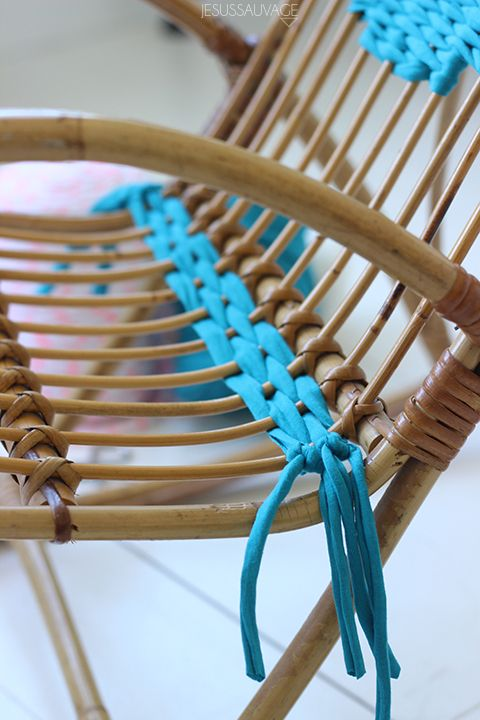 DIY Tissage! Oh my pretty chairs!