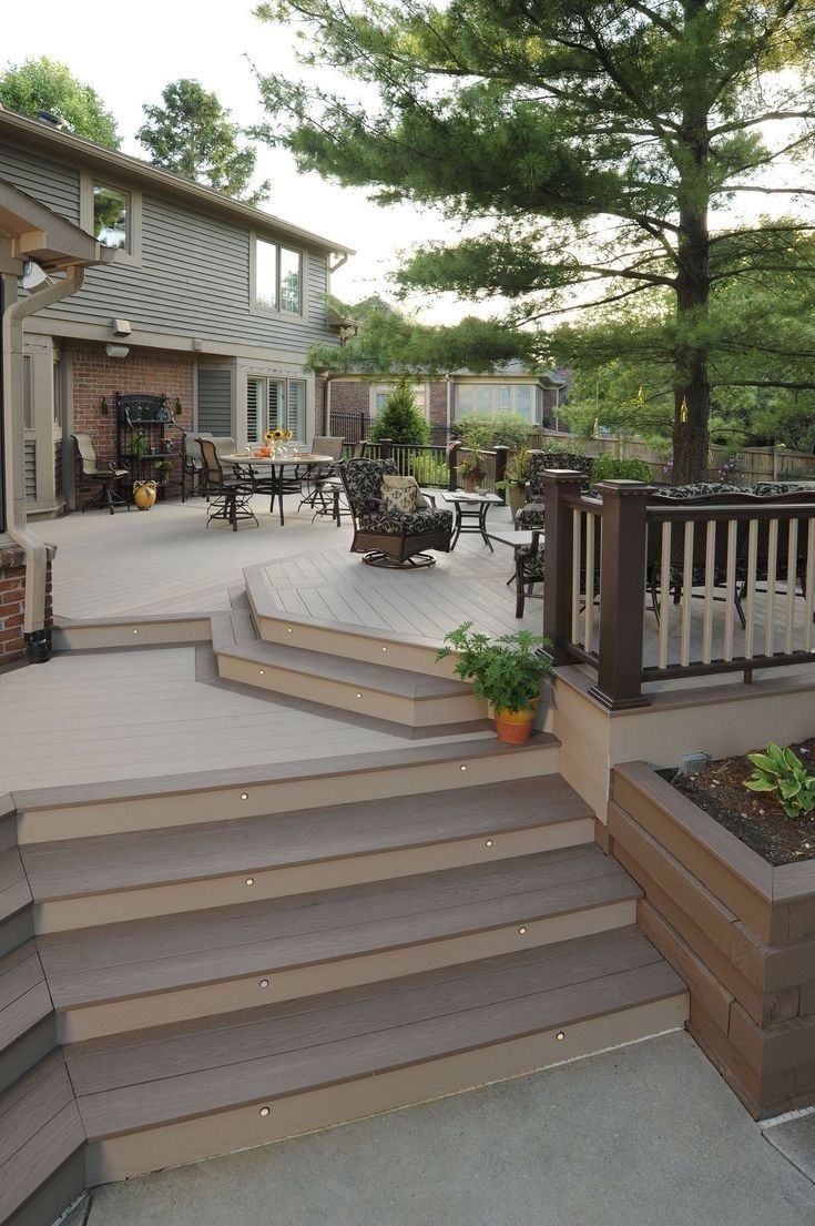 55 Creative Deck Ideas Beautiful Outdoor Deck Designs To Try At