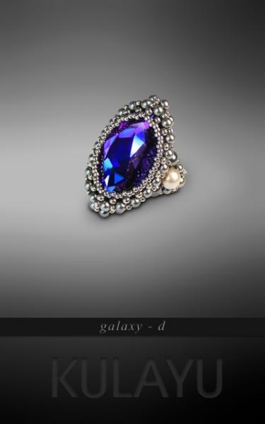 galaxy - d ring by Kulayu