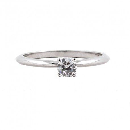 Ideal como anillo de compromiso! Este anillo está hecho en oro blanco de 18 kilates con un diamante de 0,20kts. alicante joyeria marga mira | anillos de compromiso diamante | anillos de compromiso precio | anillos de compromiso alicante | anillos de compromiso oro blanco | joyeriamargamira.com/content/10-anillos-compromiso-alicante | #joyerias #alicante #anillos #wedding #ring #gold #oro #alacant #costablanca #jewellery #diamonds #style #luxury # bodas | https://goo.gl/B7Svro