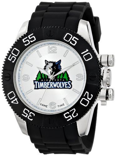 Game Time Mens NBABEAMIN Beast Watch  Minnesota Timberwolves *** Details can be found by clicking on the image.
