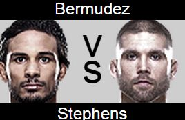 UFC 189 Dennis Bermudez vs Jeremy Stephens Prediction