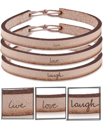 leather bracelets by Laurel Denise Smith