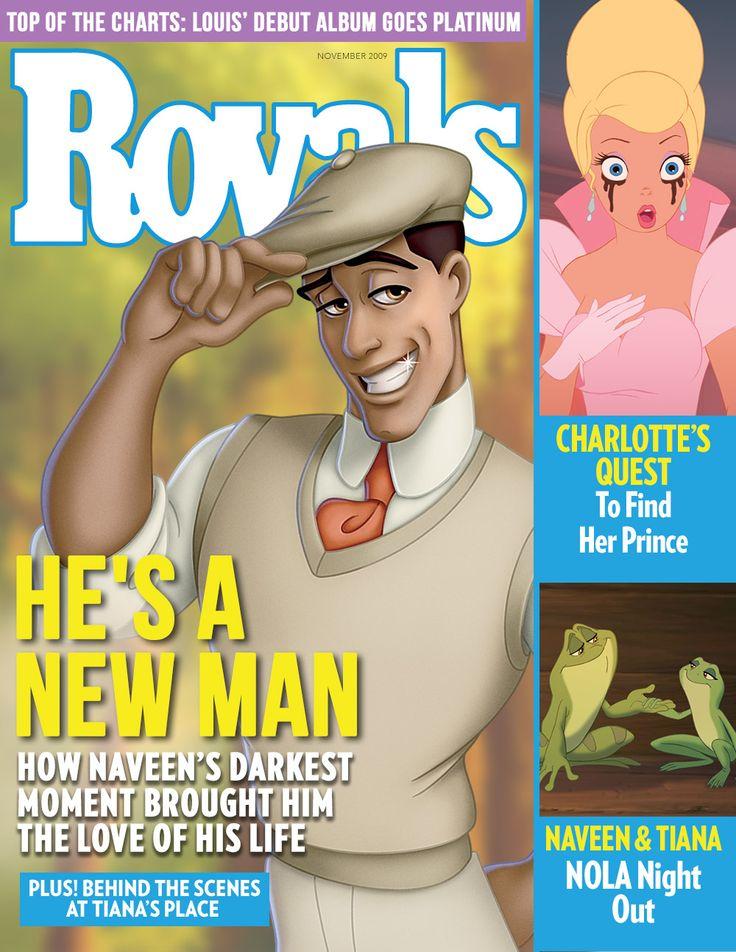 Disney Prince Magazine Covers: Prince Naveen | Oh My Disney
