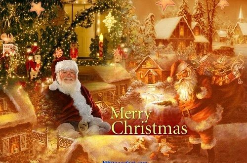 Here is a collection of 12 beautiful Christmas greeting cards that you love to share with friends and family members. These are evergreen Christmas cards.