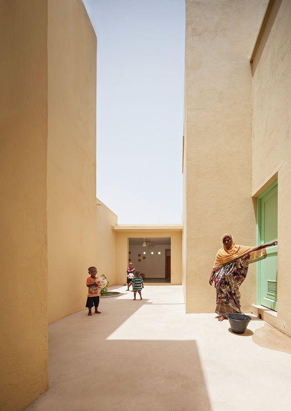 Cemcrete finishes used for the SOS Children's Village, Djibouti