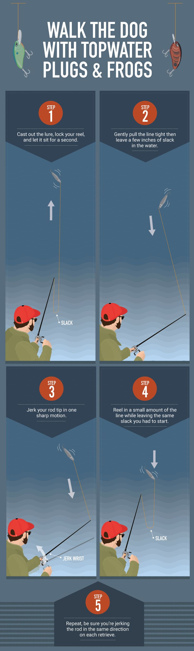 Walk The Dog - Rod Tricks Every Angler Should Know