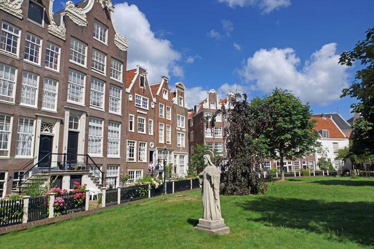 Le Béguinage #Begijnhof d'#Amsterdam. #Hollande #PaysBas