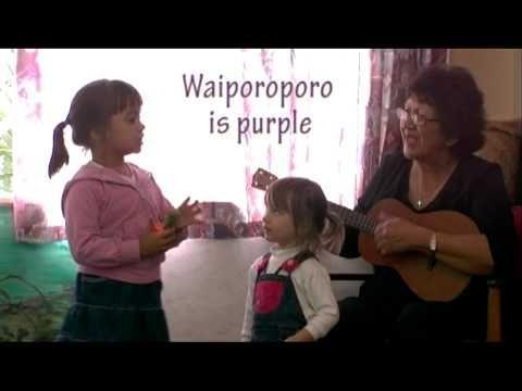 Learn Maori names for colors through song▶ Ma is White - Hineteiwaiwa Kohangareo - YouTube