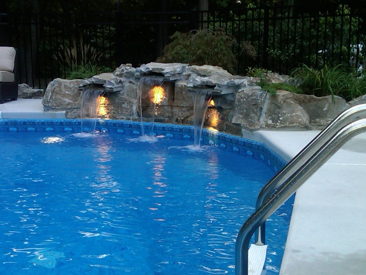 17 Best Images About Inground Vinyl Pools On Pinterest