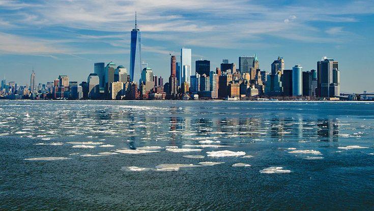 Mapamundi de la subida del mar Así afectará el calentamiento global a las ciudades costeras - RT en Español - Noticias internacionales