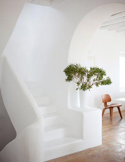 Fehér lépcsőház