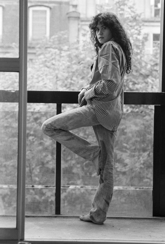 Hommage à l'actrice Maria Schneider qui nous a quittée il y a 5 ans, le 3 Février 2011 Photo: François Pagès / Paris Match: