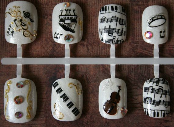 Japanese Nail Art- The Sound of Music